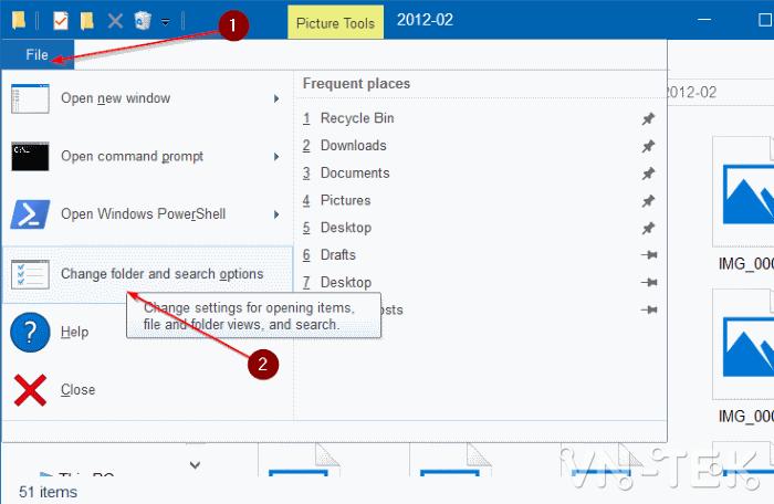 windows explorer 10 2 - Cách sửa lỗi ảnh thumb không hiển thị trên File Explorer Windows 10