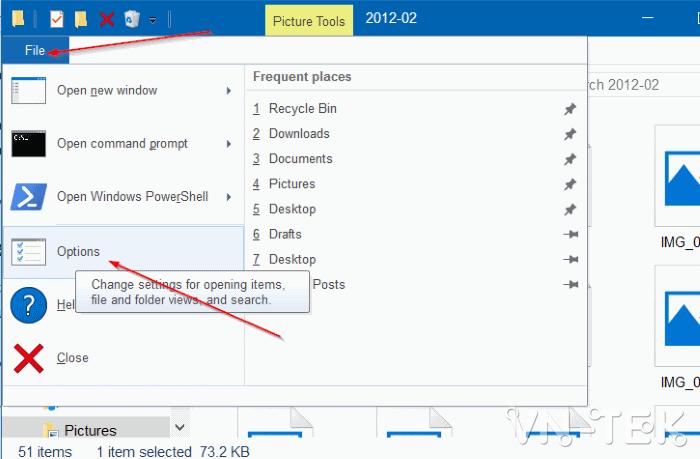 windows explorer 10 3 - Cách sửa lỗi ảnh thumb không hiển thị trên File Explorer Windows 10