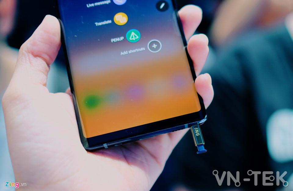 galaxy note9 6 - Galaxy Note9 vừa ra mắt: To, sắc sảo và thông minh hơn
