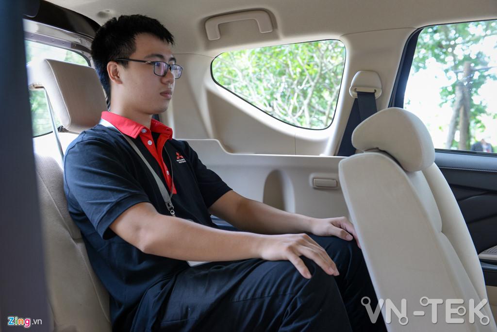 mitsubishi xpander 4 - Đánh giá nhanh Mitsubishi Xpander - động cơ 1.5L yếu hay không?