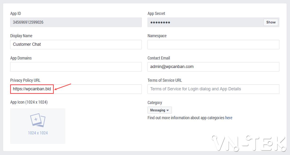 tich hop facebook chat cho website khong can dung plugin 6 - Tích hợp Facebook Chat cho website không cần dùng plugin