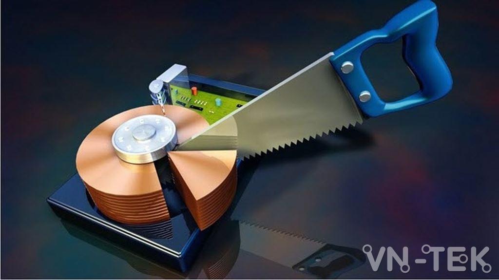 disk management 1 - Hướng dẫn chia và gộp ổ cứng trực tiếp trên Windows