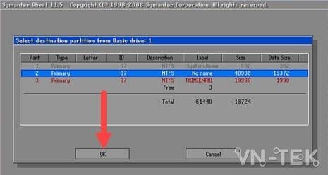 ghost windows tu o cung 15 - Cách ghost Windows 10, 8.1, 7 từ ổ cứng HDD, không cần usb