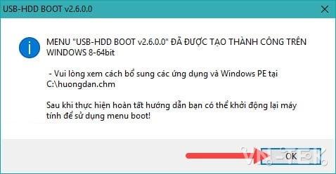 ghost windows tu o cung 4 - Cách ghost Windows 10, 8.1, 7 từ ổ cứng HDD, không cần usb