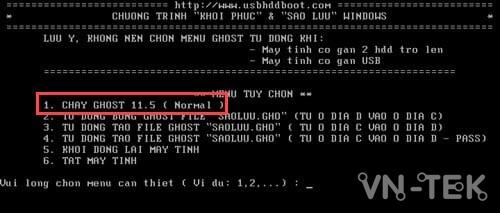 ghost windows tu o cung 8 - Cách ghost Windows 10, 8.1, 7 từ ổ cứng HDD, không cần usb