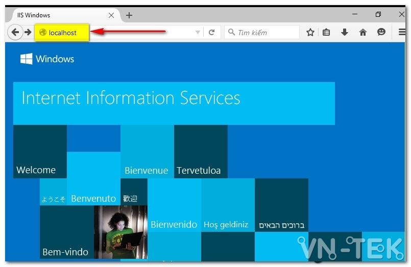 huong dan cai dat IIS trong windows 10 4 - Hướng dẫn cài đặt dịch vụ IIS trên Windows 10