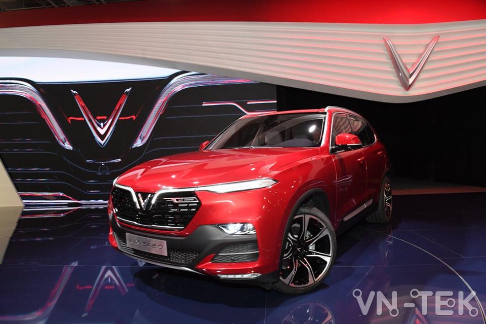 vinfast lux a2 2 - Xem nhanh nội thất 2 mẫu xe VinFast vừa ra mắt 2018
