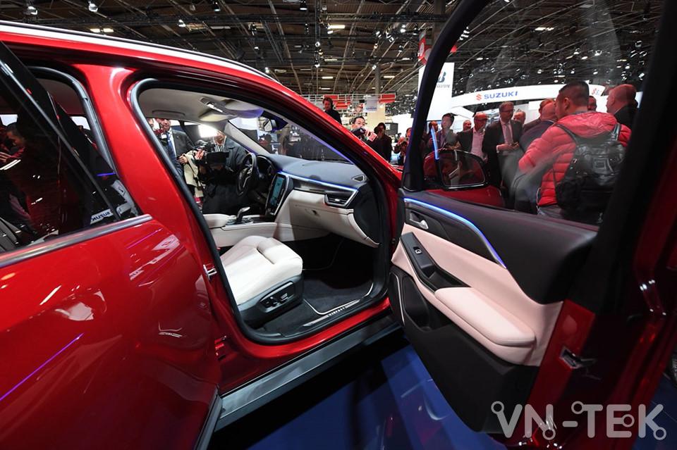 vinfast lux a2 3 - Xem nhanh nội thất 2 mẫu xe VinFast vừa ra mắt 2018
