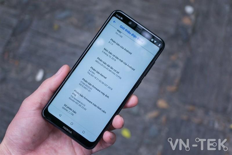 an tai tho nokia 61 plus 4 - Chế độ ẩn tai thỏ đã được mang trở lại chiếc Nokia 6.1 Plus