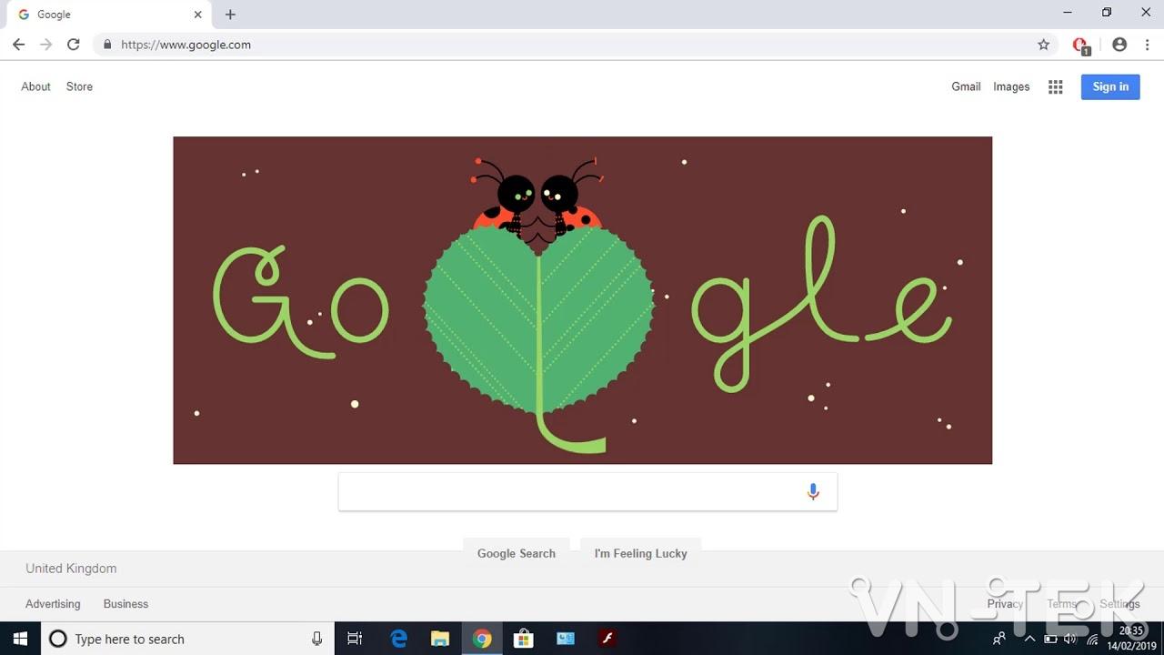 ngay valentine google - Google tôn vinh ngày Valentine 14/2 bằng giun đất, cánh cam và nhện