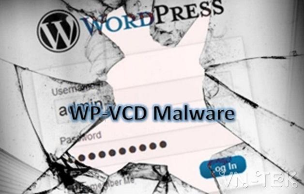 wp vcd malware - Hướng dẫn cách xử lý malware wp-vcd trên Wordpress