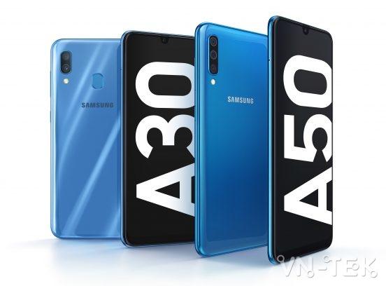 galaxy a50 galaxy a30 - Samsung giới thiệu bộ đôi Galaxy A50 và Galaxy A30 tại Việt Nam