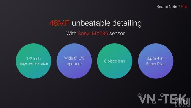 redmi note 7 pro 3 - Redmi Note 7 Pro chính thức ra mắt dùng chip Snapdragon 675