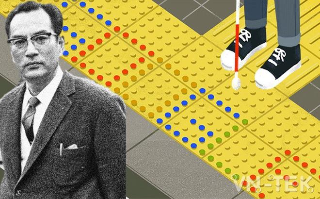 seiichi miyake 1 - Google vinh danh Seiichi Miyake cha đẻ công trình cho người khiếm thị