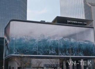 Màn hình quảng cáo lớn nhất hàn quốc