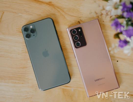 E - Vì đâu Galaxy Note20 Ultra giành thế thượng phong trên thị trường giữa hàng loạt đối thủ đáng gờm??
