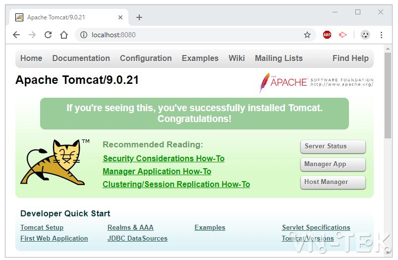 tomcat change port 1 - Hướng dẫn sửa port, đổi port cho Apache Tomcat