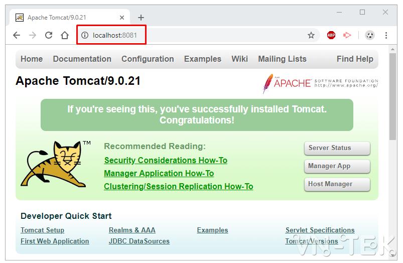 tomcat change port 2 - Hướng dẫn sửa port, đổi port cho Apache Tomcat