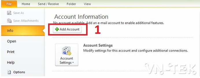yandex mail 1 - Hướng dẫn cài đặt mail Yandex với Outlook mới nhất