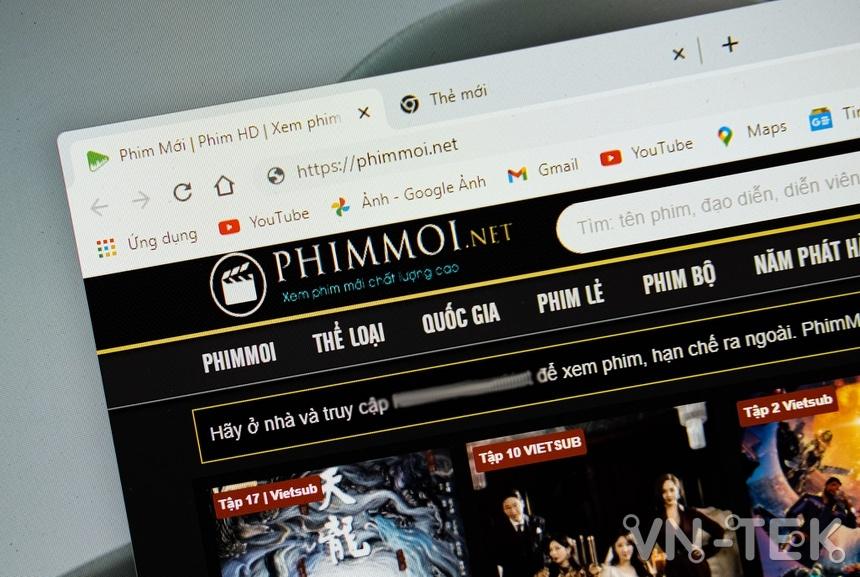phim moi net 1 - Phiên bản mới tự xưng Phimmoi đột ngột biến mất