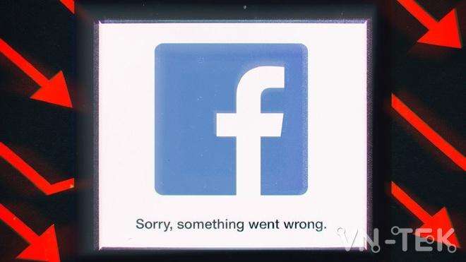 facebook error - Instagram, Facebook bị lỗi toàn cầu không thể truy cập
